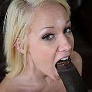 petite blonde Alexia Skye rides a hung black POV style from interracial pickups