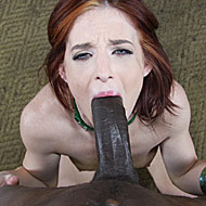 Riley Shy gets picked up and hammered by a hung black stud from interracial pickups