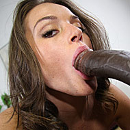 hot brunette Tori Black gets picked by a hung black bull from interracial pickups
